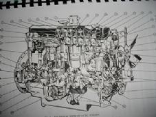 Ford 2700.Industrial engine.Service manual.